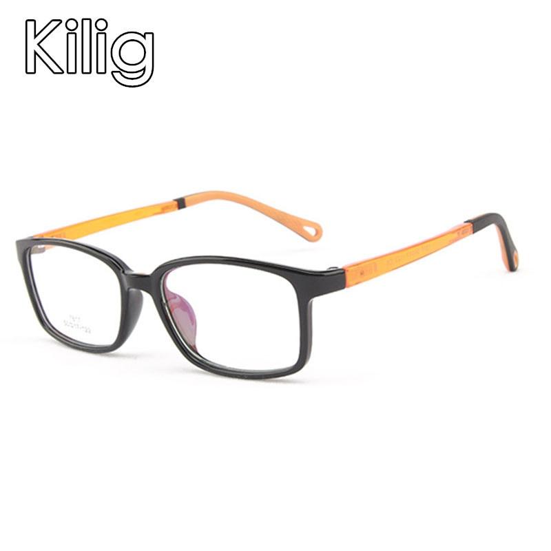 2019 Kids Reading Glasses Children Optic Frame Girls Boys Transparent Computer Glasses Kids Sunglass