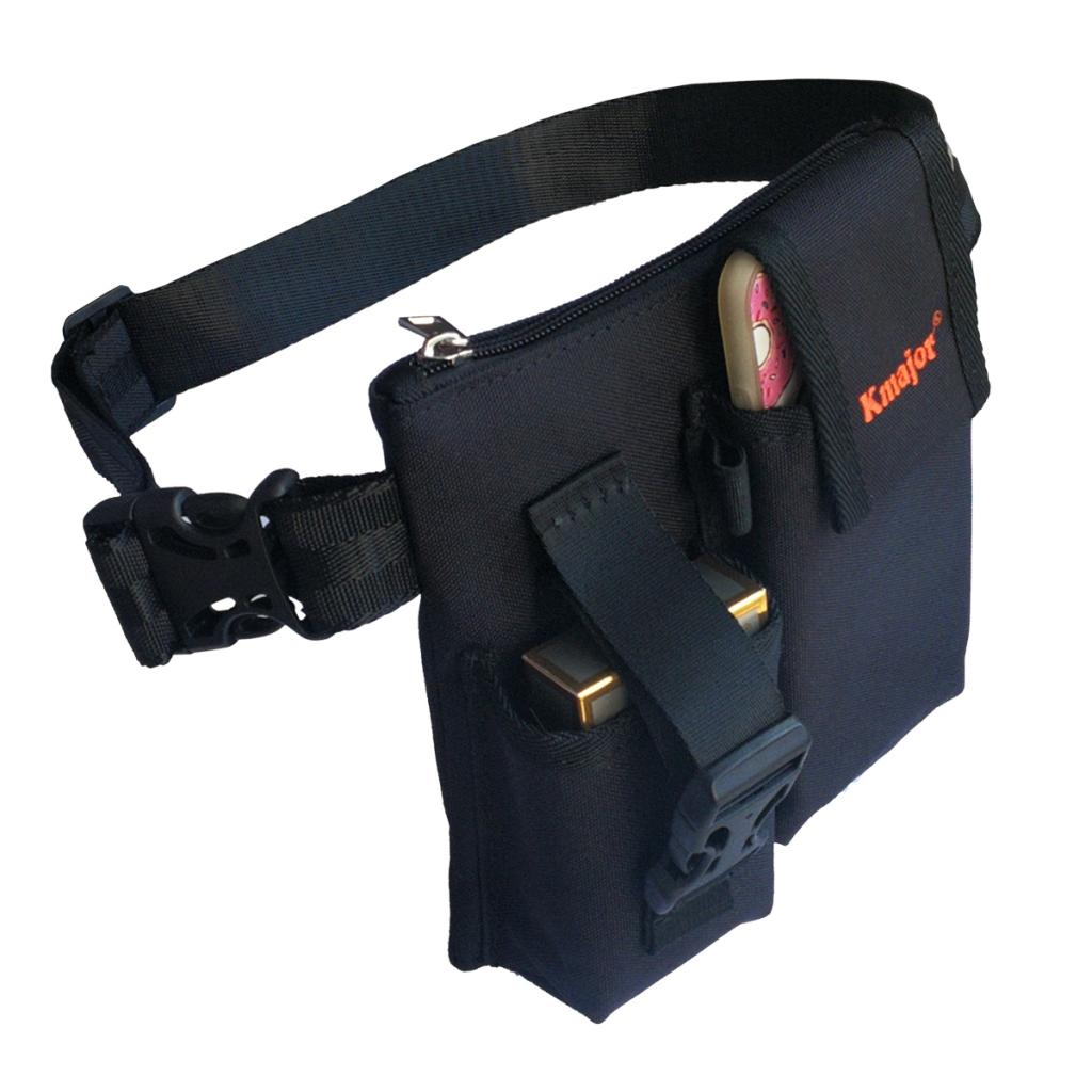 Durable Canvas Travel Carrying Pouch Elegant Waist Pack For Phones/Cash/Pens