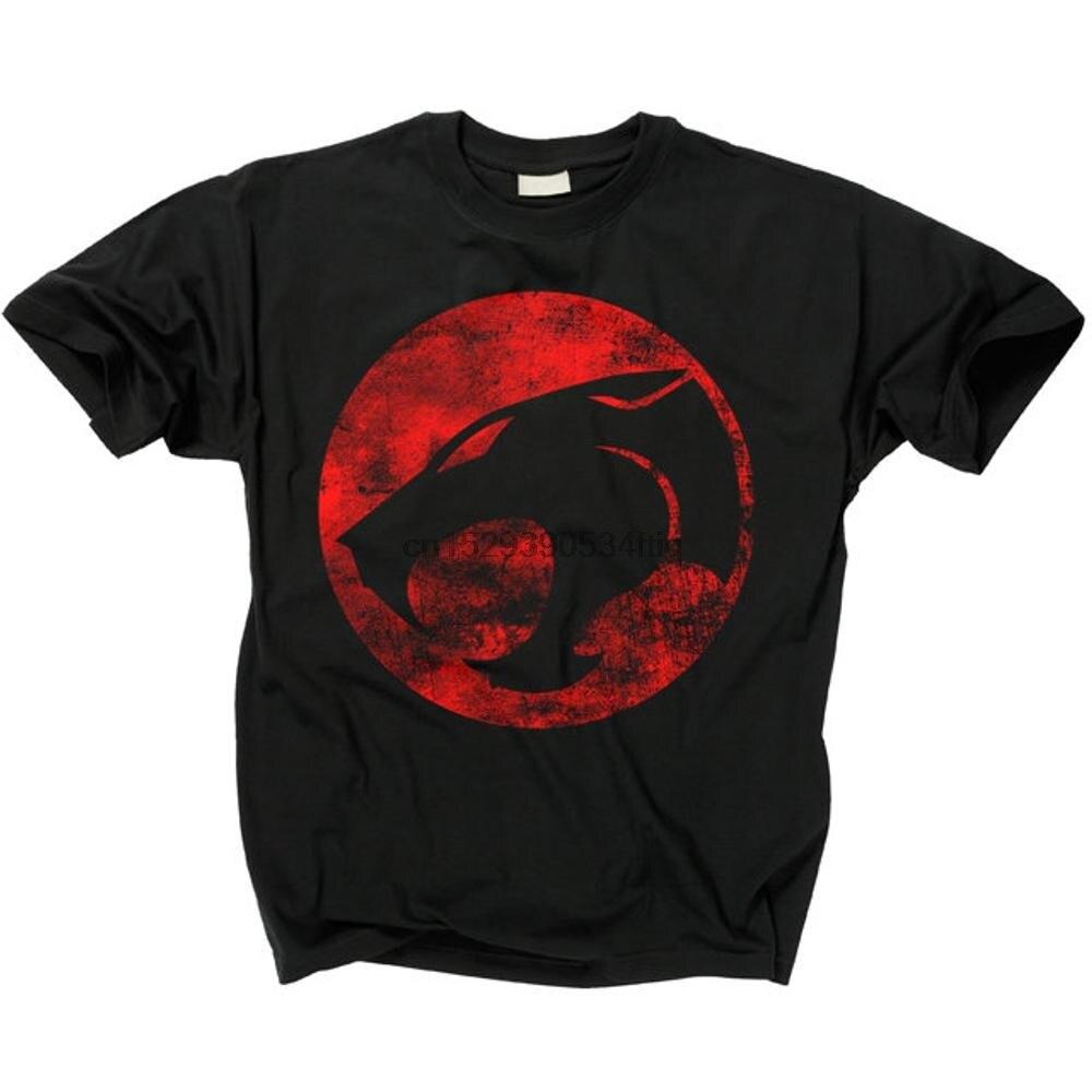 Camiseta do logotipo de thundercats t