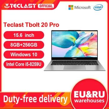 Teclast Tbolt 20 Pro Laptop Intel Core i5-8259U 15.6 inch 1920x1080 FHD 8GB RAM 256GB SSD Windows 10 USB2.0 3.0 Type-C Notebook