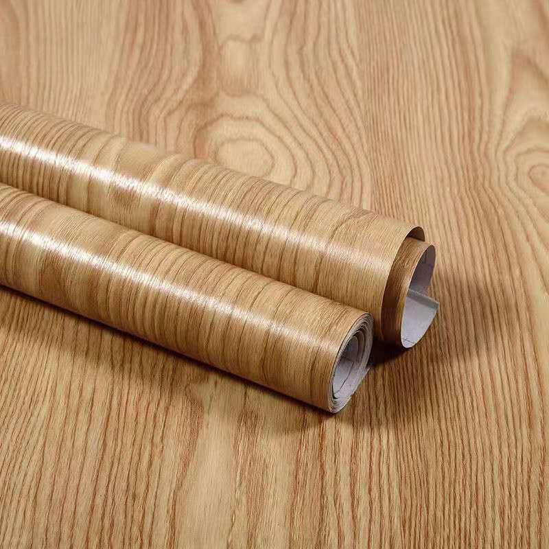 Настенная бумага с деревянными досками, самоклеящаяся, Shiplap, коричневая самоклеящаяся настенная бумага, съемная, домашний декор, виниловая ...