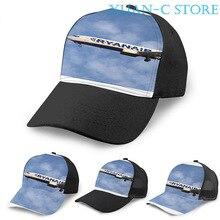 Ryanair Boeing 737-8AS Basketball Cap(2) men women Fashion all over print black Unisex adult hat
