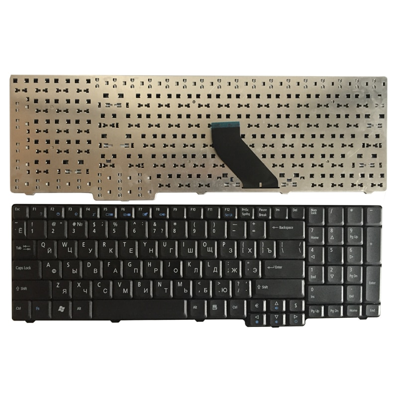 Ruso teclado del ordenador portátil para Acer Extensa 5335Z 5355, 5535 de...