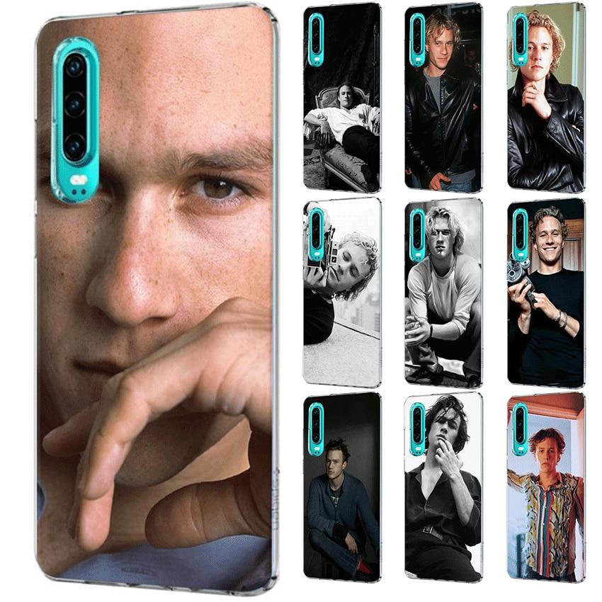 Funda para teléfono móvil para Huawei P Smart Z Plus P30 P20 P10 P9 P8 Lite Pro Heath Ledger