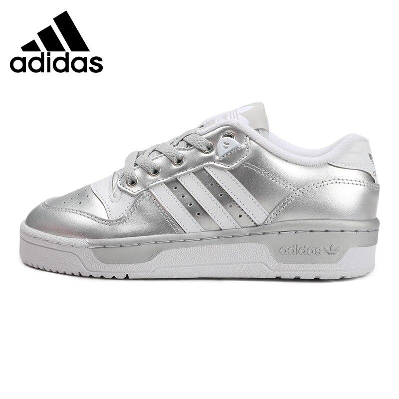 Original New Arrival  Adidas Originals RIVALRY LOW W Women's  Skateboarding Shoes Sneakers