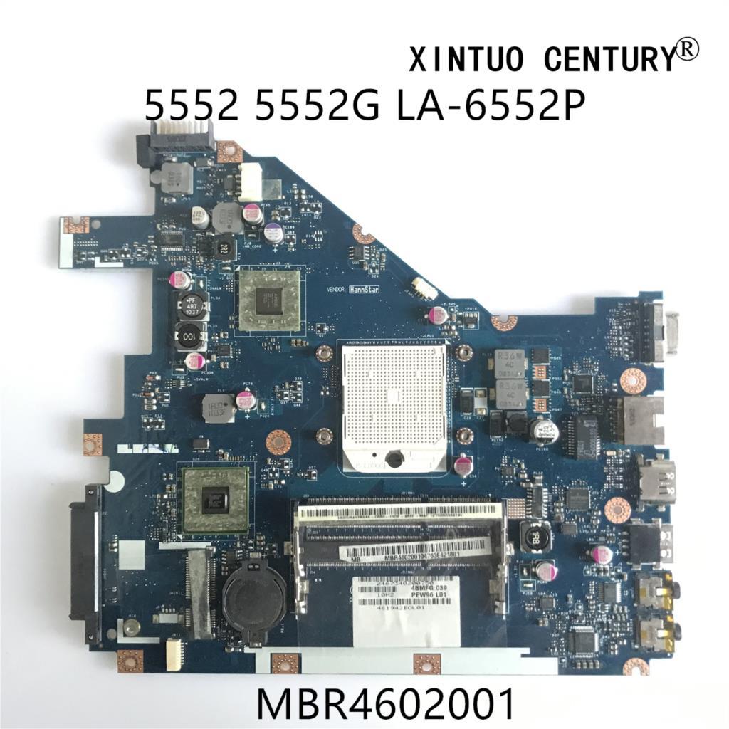 MBR4602001 PEW96 LA-6552P NV50A صالح لشركة أيسر 5552 5552G اللوحة المحمول eMachines E442 E642 اللوحة 100% اختبار العامل