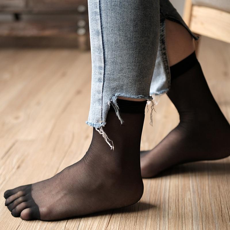 2020 novas mulheres de verão cinco dedos meias casuais toe meias respirável calcetines tornozelo