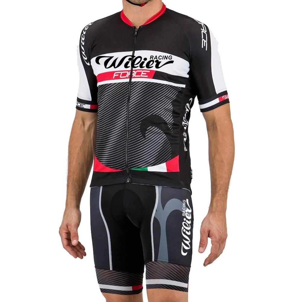 Wilier De hombres Ciclismo Jersey conjunto bicicleta Ropa Mtb vestir Maillot Ciclismo Ropa Hombre Ropa De Masculino bicicleta pantalones cortos