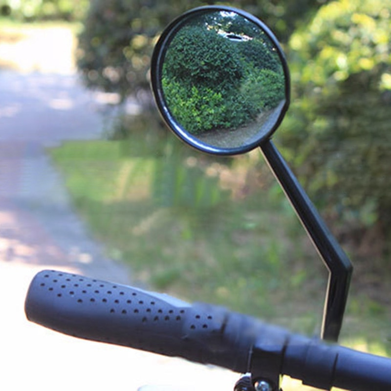 1Pc Bike Rearview Mirror Road Mountain Bicycle Handlebar Wide Angle Rear View Mirror Motocycle Cycli