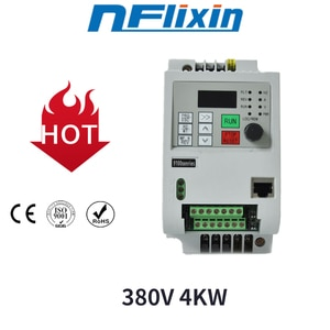 Event Specials!VFD Inverter 380v 4KW/0.75KW/2.2KW Three Phase Output For CNC Spindle Free Shipping!