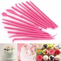 plastic cake decorating modelling tools clay sculpting set shaper polymer modeling clay tools wax carving pottery tools 14pcs
