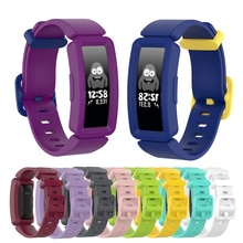 Replacement Soft Silicone Strap For Fitbit ace 2 Kids Smart Watch Band Classic Bracelet For Fitbit I