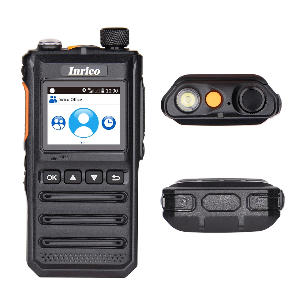 Inrico T640A 4G Network Walkie talkie Android 8.1 Cheapest account app GPS 2 way radio long range wireless intercom transceiver