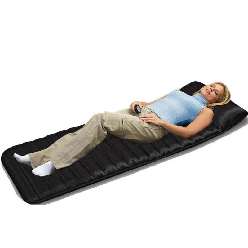 1 PC electric vibration massage massage mattress pad 9 PC vibration motor and far infrared heating massager massage pillow