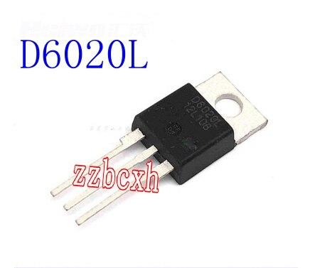 5PCS/LOT New original In Stock  D6020L   TO-220   20A/600V