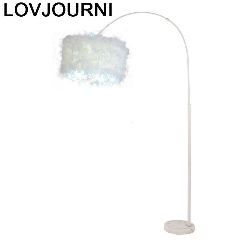 Lámpara De Pie De diseño nórdico para sala De estar lámpara De Pie