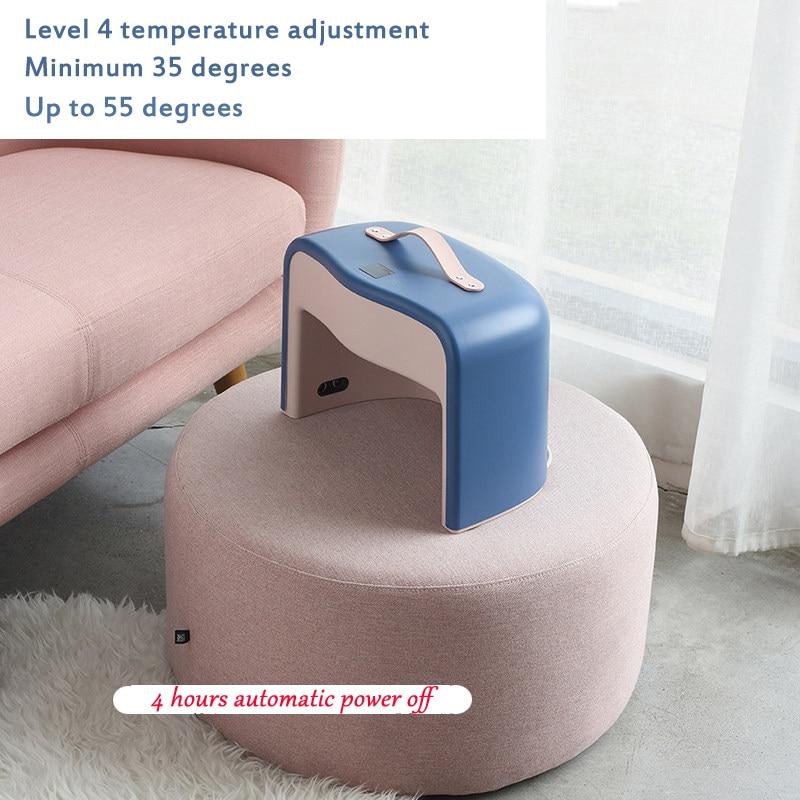Electric Warm Heated Foot Heating Pad Warmer Heat 4 level Heat Settings foot care Warmer Cushion Thermal Foot Warmer Old man enlarge