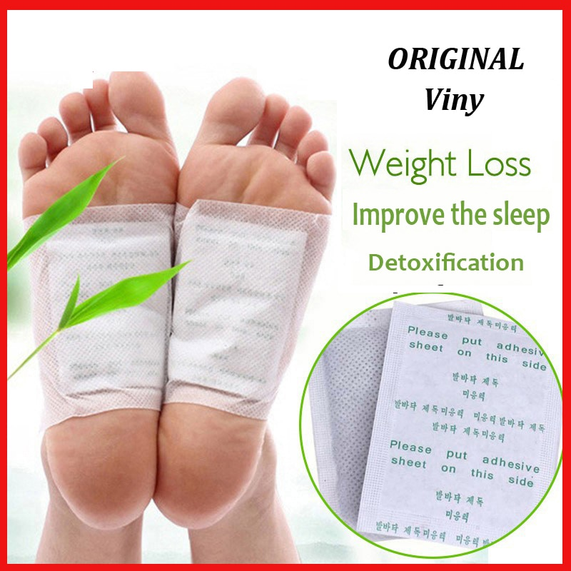 (40 patches+40 pcs Adhersives) Drop shipping Kinoki Detox Foot Patch Bamboo Pads Patches With Adhers