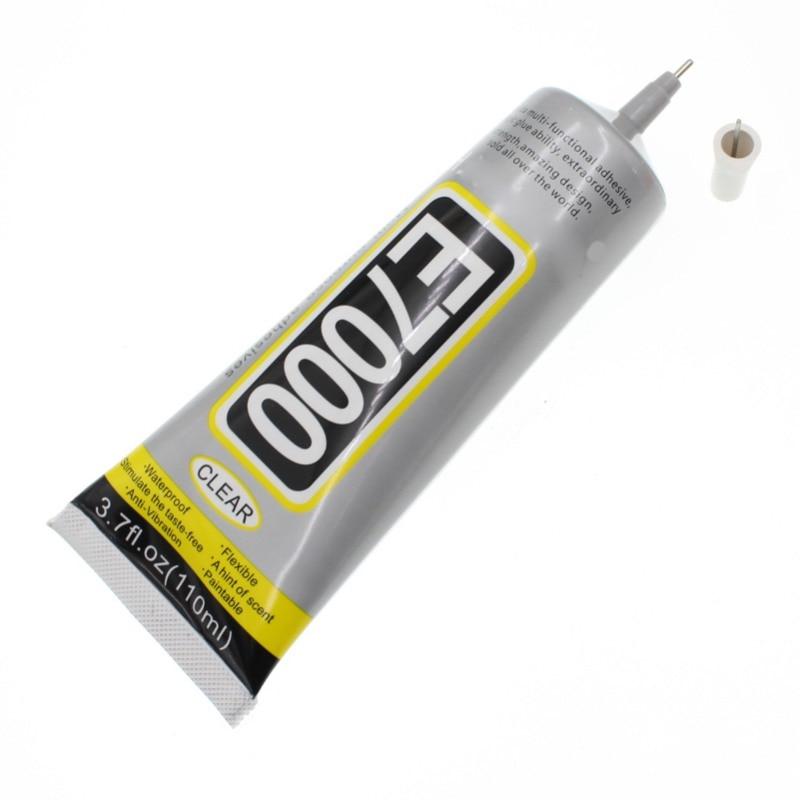 50/100ml E7000 pegamento líquido impermeable Metal cuero adhesivo escuela Scrapbooking Bond resina epoxi madera tela diamantes de imitación