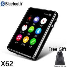 Bluetooth 5.0 MP4 Player 8G 16G 32G 64G 2.4 pollici Full Touch Screen di Registrazione Radio FM E-book Music Video Player Built-in Altoparlante