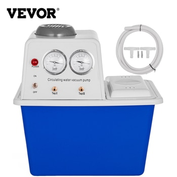 VEVOR 15L 60L/min Circulating Water Vacuum Pump Dual-use ABS Material for Labs/Research Center/Chemical Industry/Pharmacy Etc.
