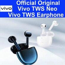 Original ViVO TWS néo écouteurs 14.2mm dynamique IP54 sans fil bluetooth casque X30 Pro iqoo 3 néo Pro Nex 3 U3x Z5x V17