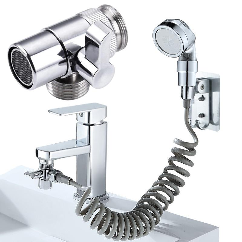 1 шт. переключатель, адаптер для крана, сплиттер для кухонной раковины, переключающий клапан, соединитель для водопроводного крана, для туал...