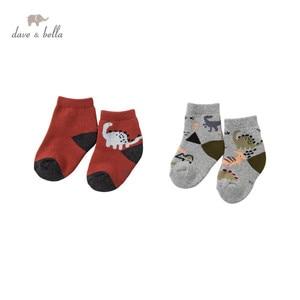 DB15693 dave bella winter fashion baby boys cartoon sock children boy socks