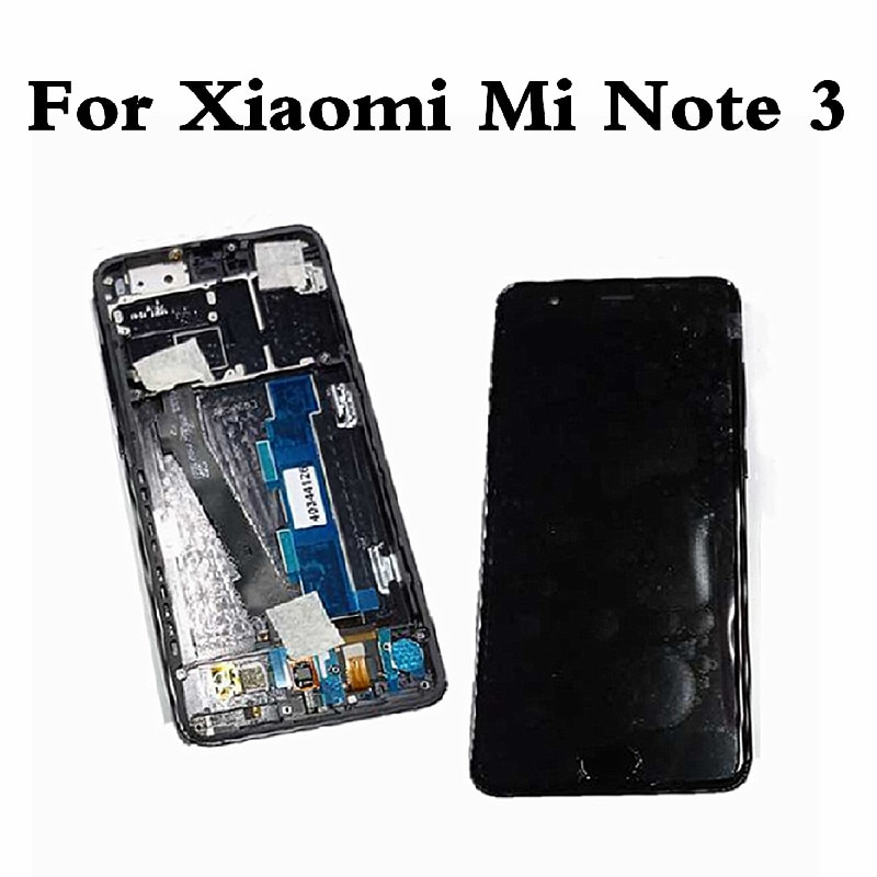 LCD Original para Xiaomi Mi nota 3 pantalla LCD de montaje de digitalizador con pantalla táctil para Xiaomi Mi Note3 pantalla de visualización de repuesto