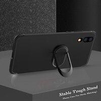 Чехол с кольцом-подставкой для Xiaomi Mi 5S Plus, Mi5, 5C Prime, Note 2, 3 Play, Poco F1, F2 Pro