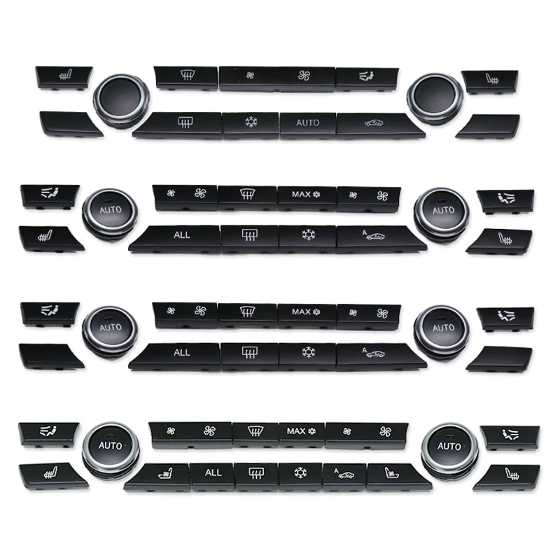 Juego de reparación de tapas de botones de CA para consola de calidad para BMW 5 7 Series F10 F18 F01 F02 520 523 525 530 730 740