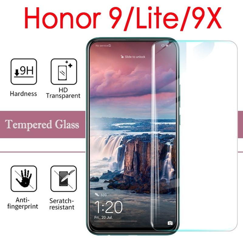 Vidrio Protector de pantalla de honor 9 para Huawei honor 9 Lite 9X en Huawie 9 Lite 9 X X9 armadura de película de vidrio templado