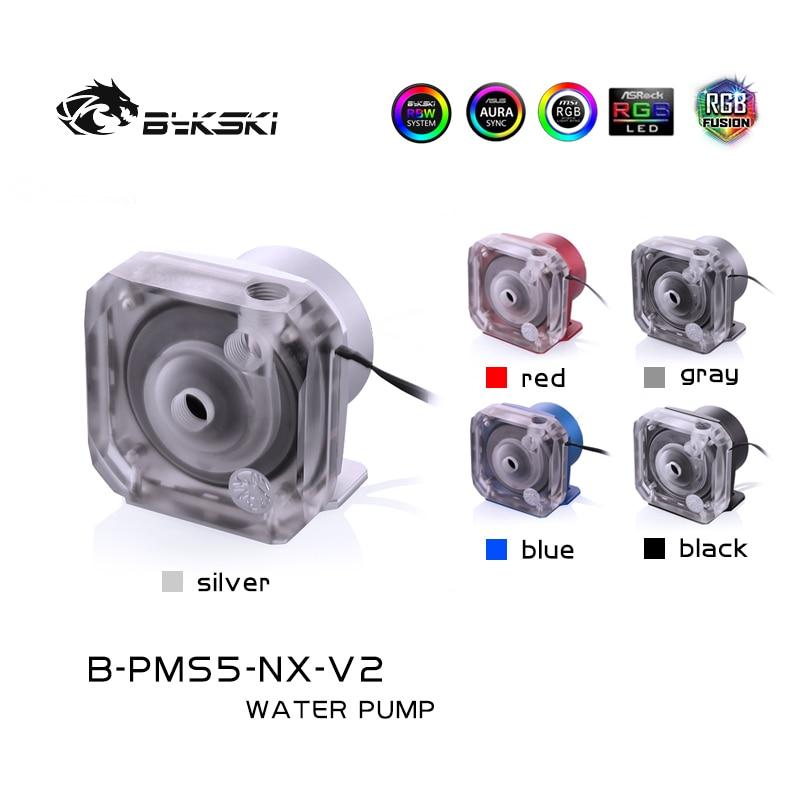 Bykski B-PMS5-NX-V2 ، PWM درع مضخات ، D5 سلسلة مضخة ، التلقائي سرعة التحكم مضخة نظام تبريد المياه.
