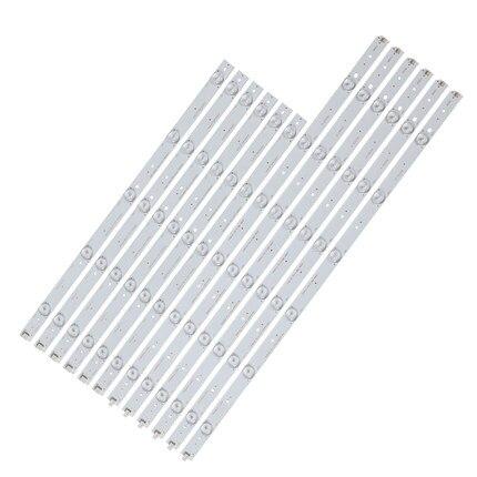 12 قطعة LED شريط إضاءة خلفي CHGD50LB29_LED3030 CHGD50LB30_LED3030 ل LED50C2080I 50C2000I 50J2S 50A300M