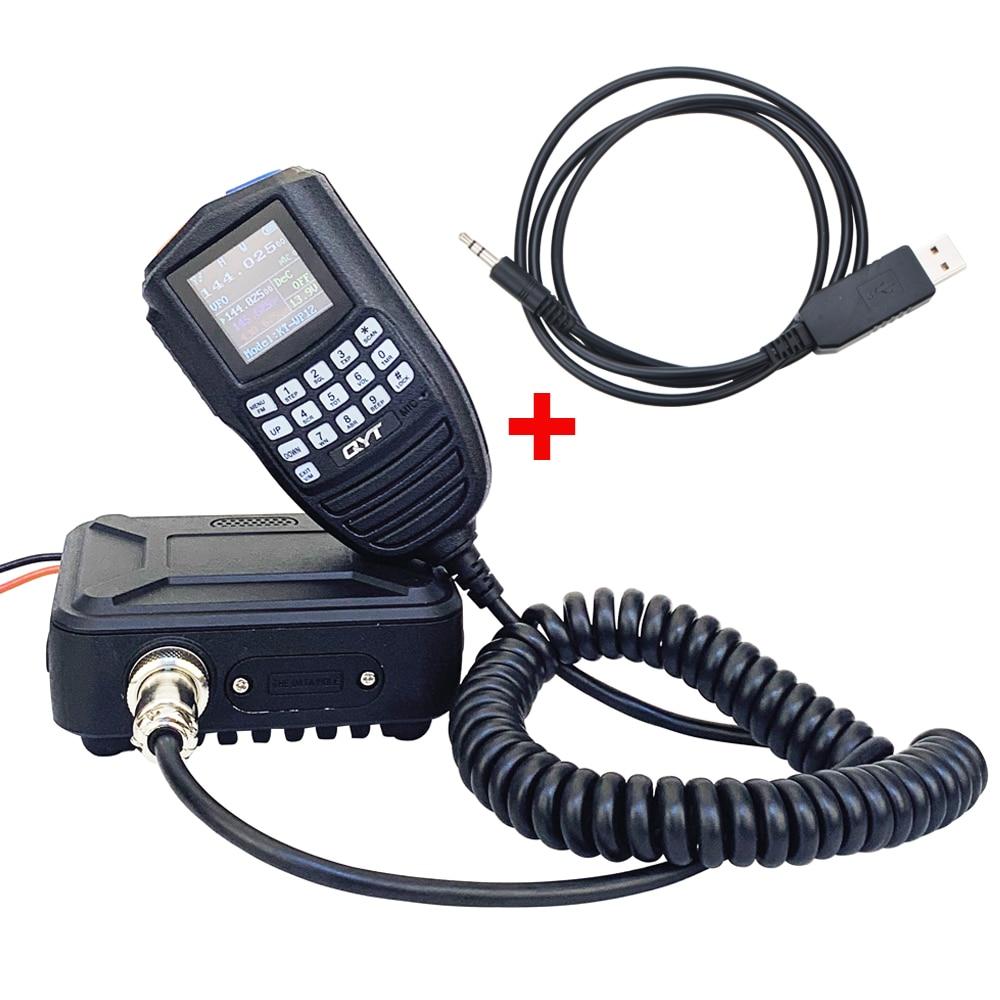 Walkie-talkie con Cable de programación, KT-WP12 VHF, 25W, UHF20W, banda Dual, VOX...