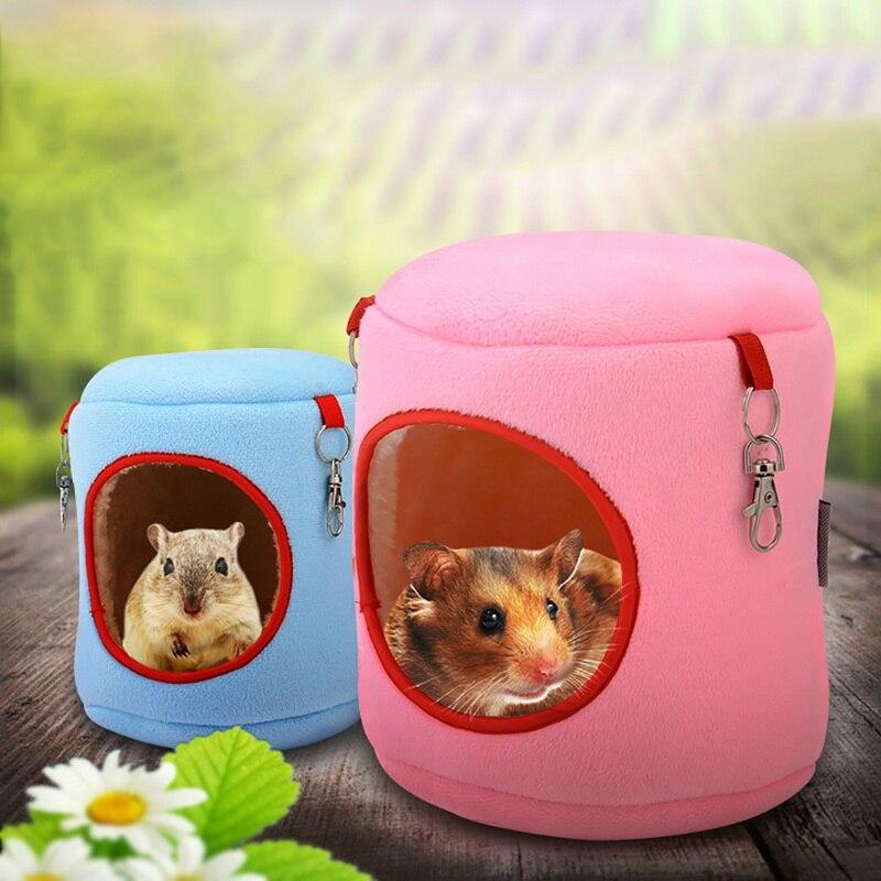 Casa perro hamaca colgante árbol camas forma arqueada cachorro perro gato vida nido de rata Hamster ardilla
