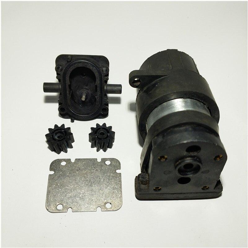 مضخة تروس CSE Micro DC DC24V مستعملة ، مقاومة درجات الحرارة العالية ، فتيلة ذاتية لتعبئة زيت الديزل ، مياه التبريد