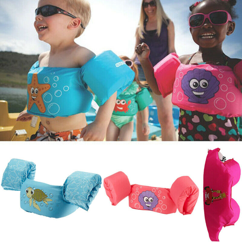 Chaleco salvavidas de dibujos animados para bebés, niñas, niños, flotador, Surfing, piscina, anillo, Chico, natación, chaleco salvavidas, Buoyancy 2-7T