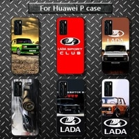 russian national automobile lada phone case for huawei p40 pro lite p8 p9 p10 p20 p30 psmart 2019 2017 2018
