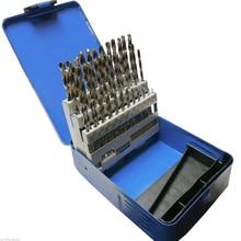 51pc Engineering Bohrer Set Hss 1 - 6mm in 0,1mm Schritten