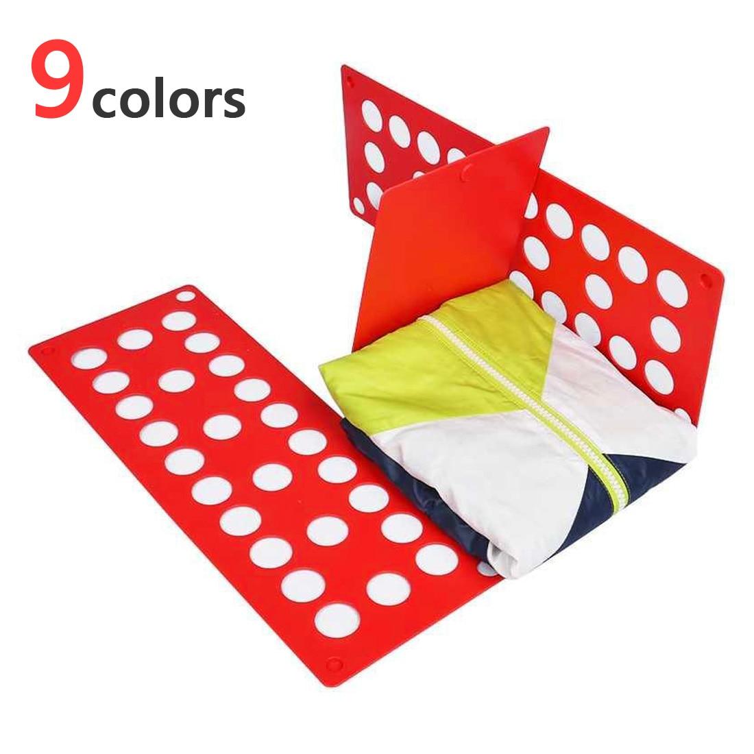 Carpeta de ropa mágica para niños y adultos, organizador de camisetas, tablero plegable ajustable, tabla plegable para ropa rápida, soporte para ropa