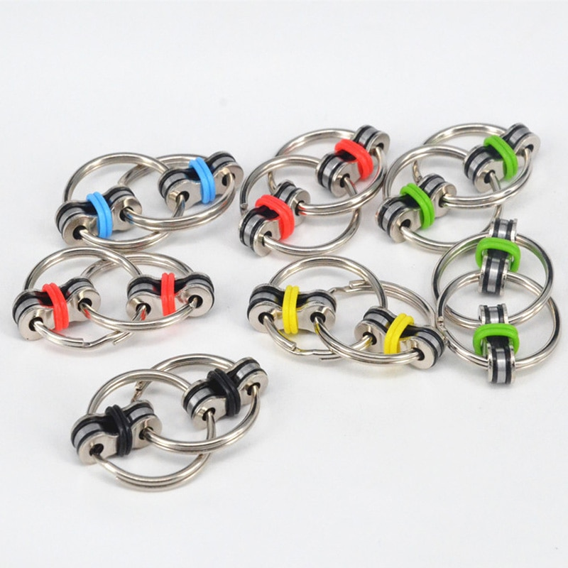 1 pieza disponible llavero mano Spinner Fidget Vent presión reductor cadena adulto descompresión juguetes y bromas prácticas L0098
