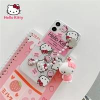 hello kitty for iphone 78pxxrxsxsmax1112pro12mini cartoon chain doll pendant phone case