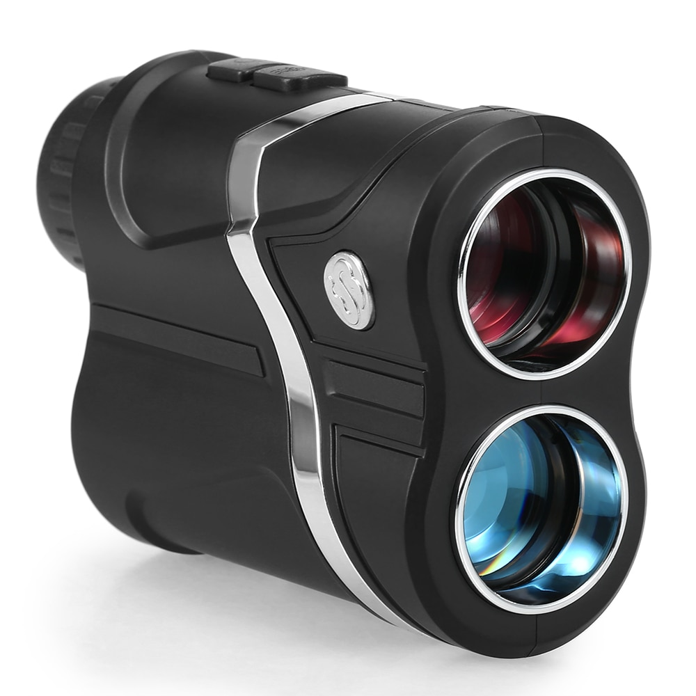 Telémetro de Golf recargable por USB Lixada, telémetro de caza de 600m, telémetro de distancia, herramienta de medición de ángulo, telescopio Monocular