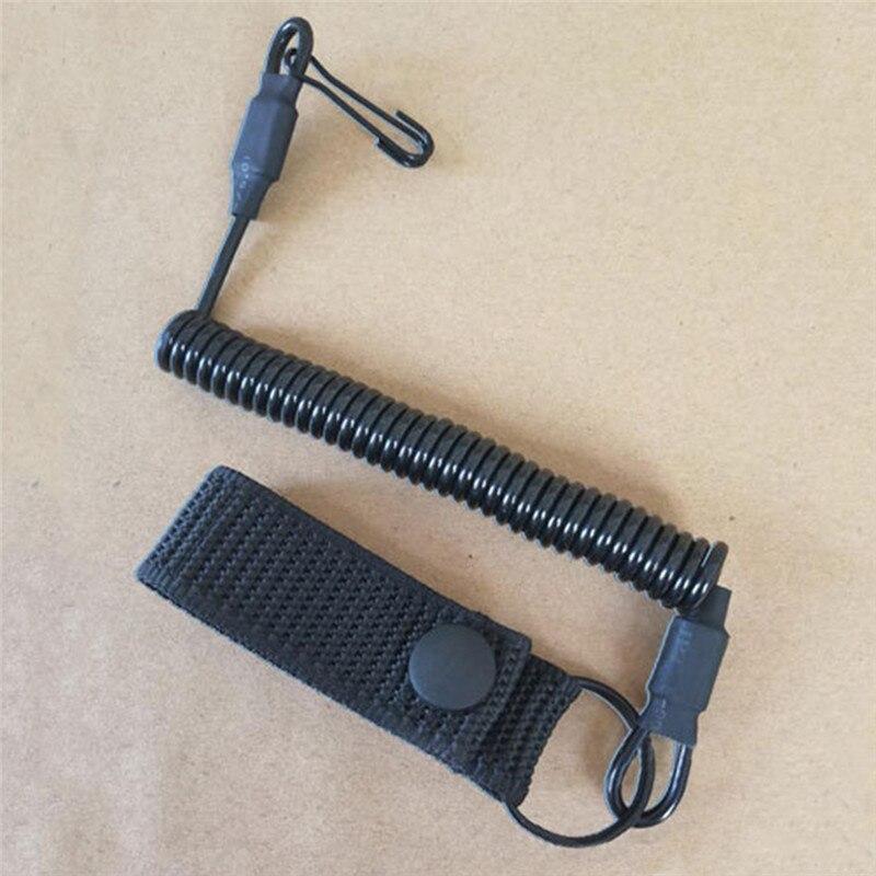 Taktična elastična vrv za vrvico, vojaška vzmetna varnostna vrv, - Lov - Fotografija 3