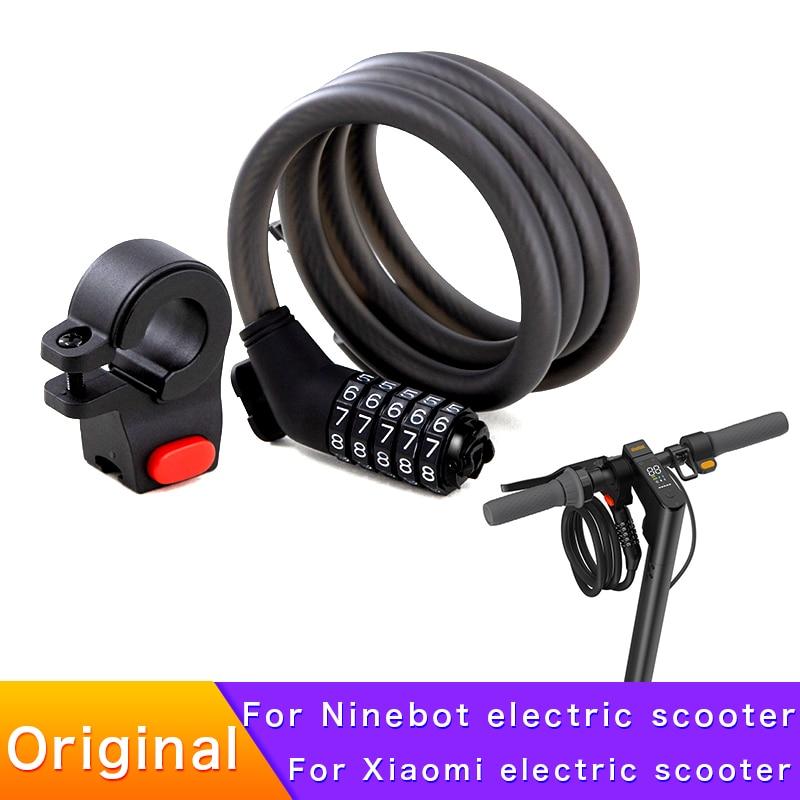 Original Password lock for Ninebot Kicksooter MAX G30 ES2 E22 E25 Xiaomi Electric Scooter anti-theft security lock