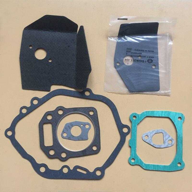Комплект прокладок подходит для HONDA GXV160 HR * 216 и более 196 163CC 5.5HP 4T вертикальный карбюратор цилиндр глушителя изолятор очиститель воздуха
