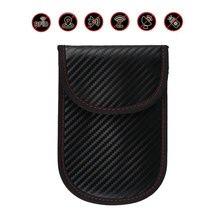 Car key Bag Cars Fob Signal Blocker Faraday Bags Signal Blocking Bag Shielding Pouch Wallet Case For