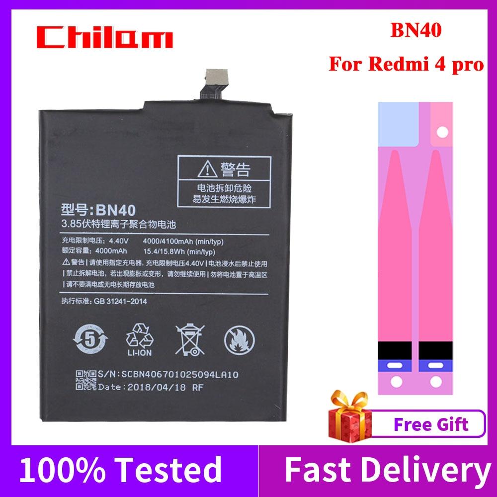new and original for tv bn40 00331b 180222 sensor Original Quality Phone Battery BN40 For Xiaomi Redmi 4 pro 4100mAh Real Capacity Redmi4 pro Replacement Batteries