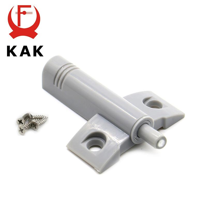 KAK, высокое качество, 10 компл./лот, серый, белый, кухонный шкаф, дверной стопорный ящик, мягкий, тихий, близкий, демпфер, буферы с винтами